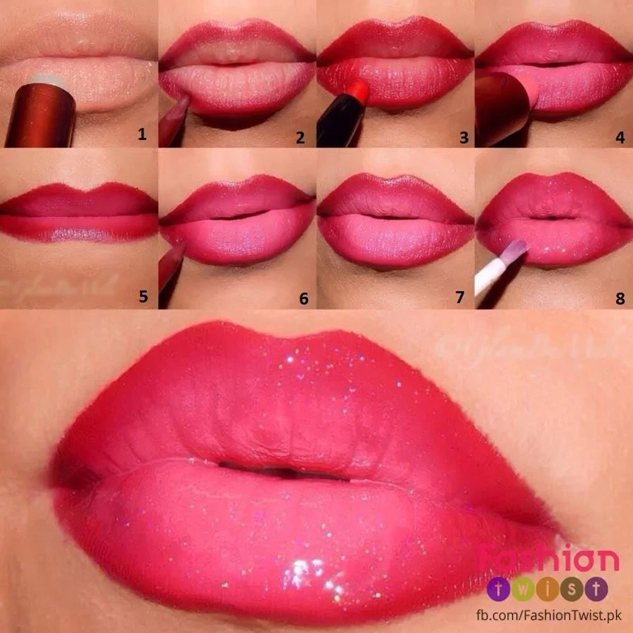 How to create the perfect ombre lips
