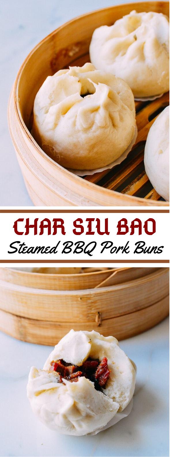 STEAMED BBQ PORK BUNS (CHAR SIU BAO) RECIPE #dinner #comfortfood