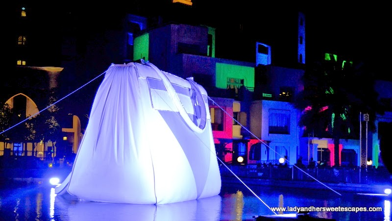 Big Bag at Dubai Festival of Lights