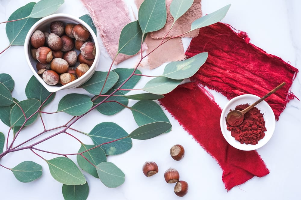 Cómo teñir telas con tintes naturales ¡Tintes 100% ecológicos!_7