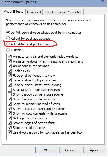 طريقة لتسريع جهاز الكمبيوتر مع ويندوز 10 لضمان عدم استنزاف الرمات