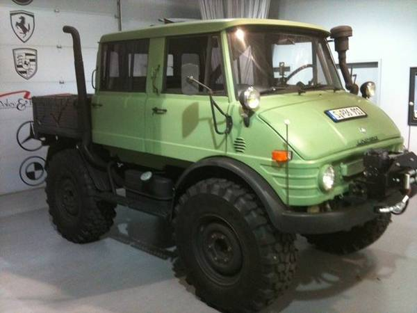 1975 Mercedes-Benz Unimog Doka For Sale