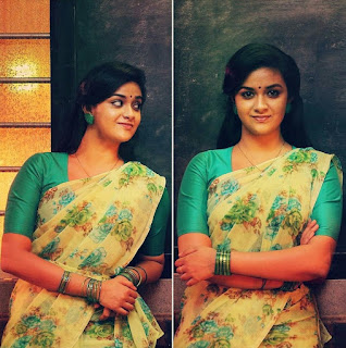 Keerthy Suresh in Yellow Saree