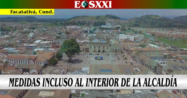 Restricciones para ciudadanos, y también para contratistas en la Alcaldía