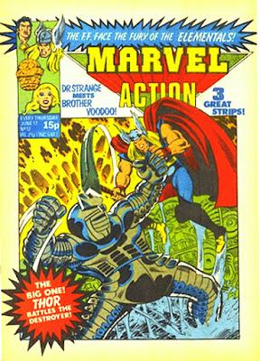 Marvel Action #12, Thor vs the Destroyer