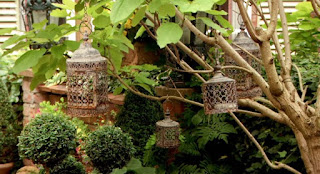 Michael Blood and Malcolm Bescoby Moroccan garden