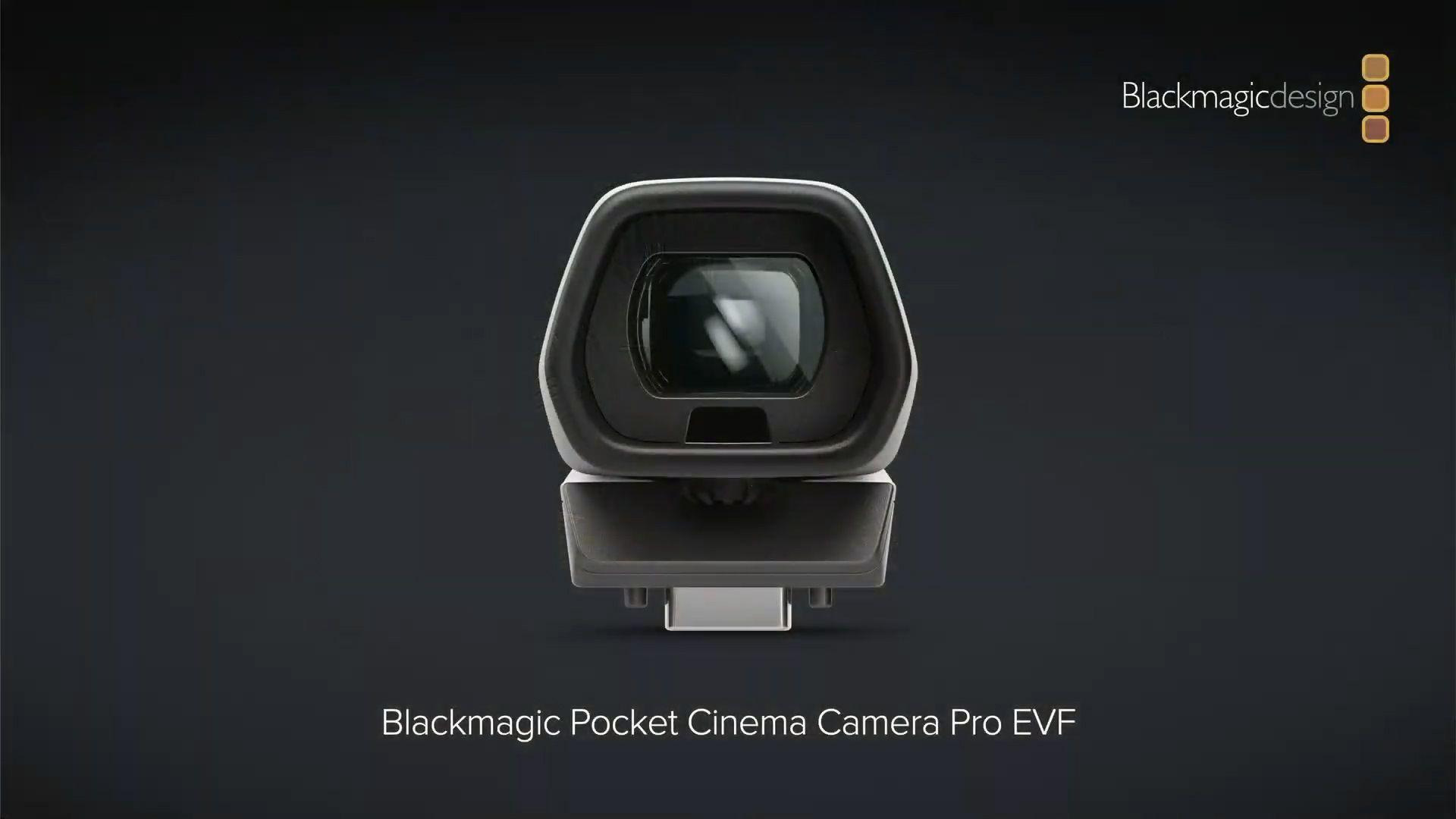 Сменный ЭВИ в камере Blackmagic Pocket Cinema Camera 6K Pro