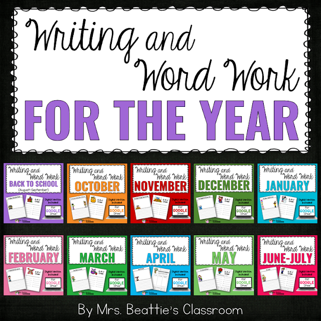 Writing and Word Work Bundle