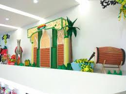 Dekorasi Ramadhan Area Meerting dari Styrofoam