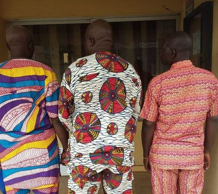 Three Fraudsters Arrested For Selling Non-existent Land To Victim