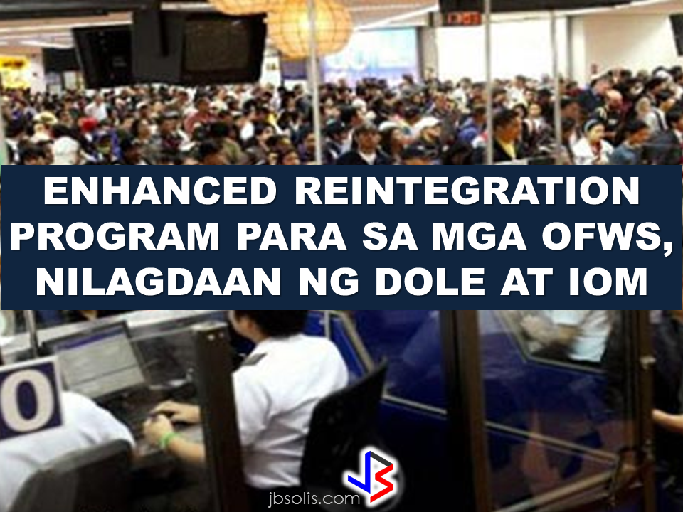 "The government has partnered with the International Organization for Migration (IOM) on a national master plan for migrant reintegration to help ensure the welfare of our returning overseas Filipino workers. A two-year project which consists relevant programs and initiatives mainly focused on the welfare of ""balikbayans"" is included on the Memorandum of Agreement (MOA) was signed between the Department of Labor and Employment (DOLE) and the IOM.      DOLE said in their statement that the signing of agreement is in line with the Migration and Development, and Crisis Management Frameworks in the Philippines, seeking to contribute to the outcomes of improving the national reintegration framework and service delivery systems.  The production of reintegration services duty bearers handbook, which covers products and services of relevant institutions; reintegration services menu for migrant returnees and their families; ISO certification of reintegration service delivery systems; and training of reintegration counselors and duty bearers are also included in this project.   Overseas Workers Welfare Administration (OWWA) and the National Reintegration Center for OFWs (NRCO) will also be joining the projects that provide services and programs for OFWs and their families.   The signatories in the agreement includes DOLE Undersecretary Dominador Say, OWWA Administrator Hans Leo Cacdac, IOM Mission Coordinator and National Programme Officer Ricardo Casco, and NRCO Director Chona Mantilla.   Source:PIA NATIONAL PORTAL AND NATIONAL BROADBAND PLAN TO  SPEED UP INTERNET SERVICES IN THE PHILIPPINES  NATIONWIDE SMOKING BAN SIGNED BY PRESIDENT DUTERTE   EMIRATES ID CAN NOW BE USED AS HEALTH INSURANCE CARD  TODAY'S NEWS THAT WILL REVIVE YOUR TRUST TO THE PHIL GOVERNMENT  BEWARE OF SCAMMERS!  RELOCATING NAIA  THE HORROR AND TERROR OF BEING A HOUSEMAID IN SAUDI ARABIA  DUTERTE WARNING  NEW BAGGAGE RULES FOR DUBAI AIRPORT    HUGE FISH SIGHTINGS"