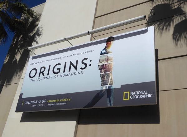 Origins journey of humankind billboard