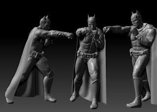 batman vitruvius3d