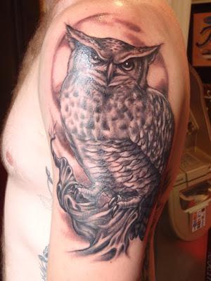 owl tattoo small,owl tattoosimple
