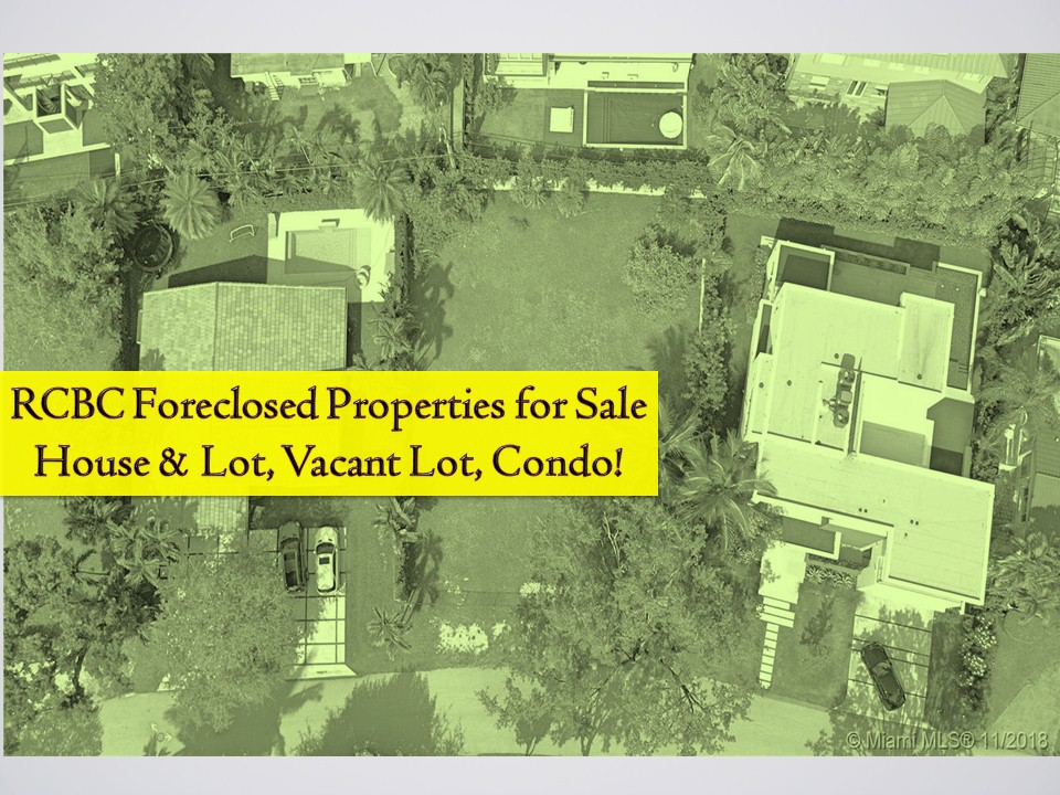 The following are foreclosed properties from Rizal Commercial Banking Corporation (RCBC) that you can purchase for this month of March 2019.  There are many properties on the list where you can choose from a vacant lot, house and lot, townhouse, among others. The following are a list of foreclosed properties for sale from RCBC! Real-estate properties are a good investment nowadays since the value is increasing after a few years time! If you're interested, contact the following. This information is taken from RCBC website.   Red(02) 230-7707 / 0919-9938394 Joseph(02) 230-7707 / 0919-9938394 Alex(02) 230-7707 / 0919-9938394 Jessica(02) 230-7707 / 0919-9938394  Note: Jbsolis.com is not affiliated with RCBC and this post is not a sponsored. All information below is for general purpose only. If you are interested in any of these properties, contact directly with the bank's branches in your area or in contact info listed in this post. Any transaction you entered towards the bank or any of its broker is at your own risk and account.  Note: JBsolis.com is not affiliated with RCBC and this post is not a sponsored. All information below is for general purpose only. If you are interested in any of these properties, contact directly with the East-West branches in your area or in contact info listed in this post. Any transaction you entered towards the institution or any of its broker is at your own risk and account.