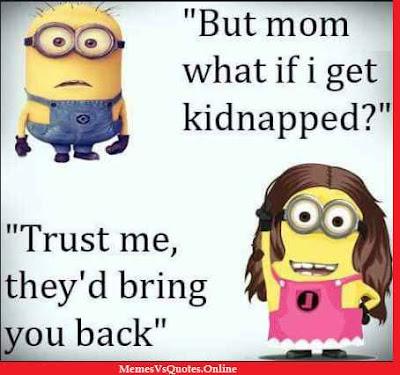 Minion Memes For Moms