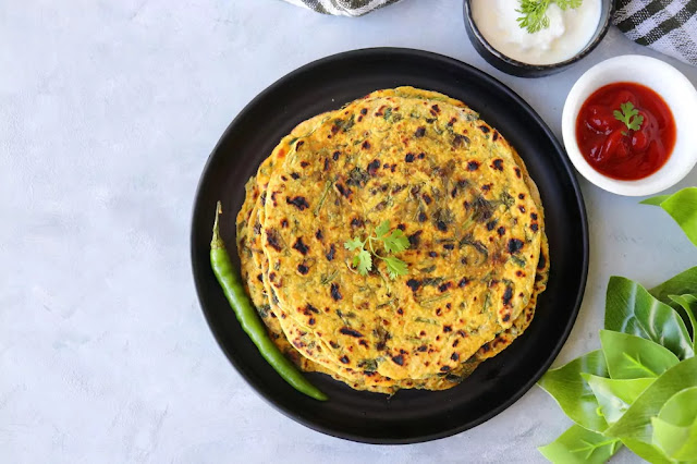 Gujarati Thepla Recipe in Hindi