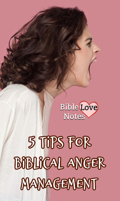 These 5 Tips - straight from Scripture - can help you overcome your anger Biblically.