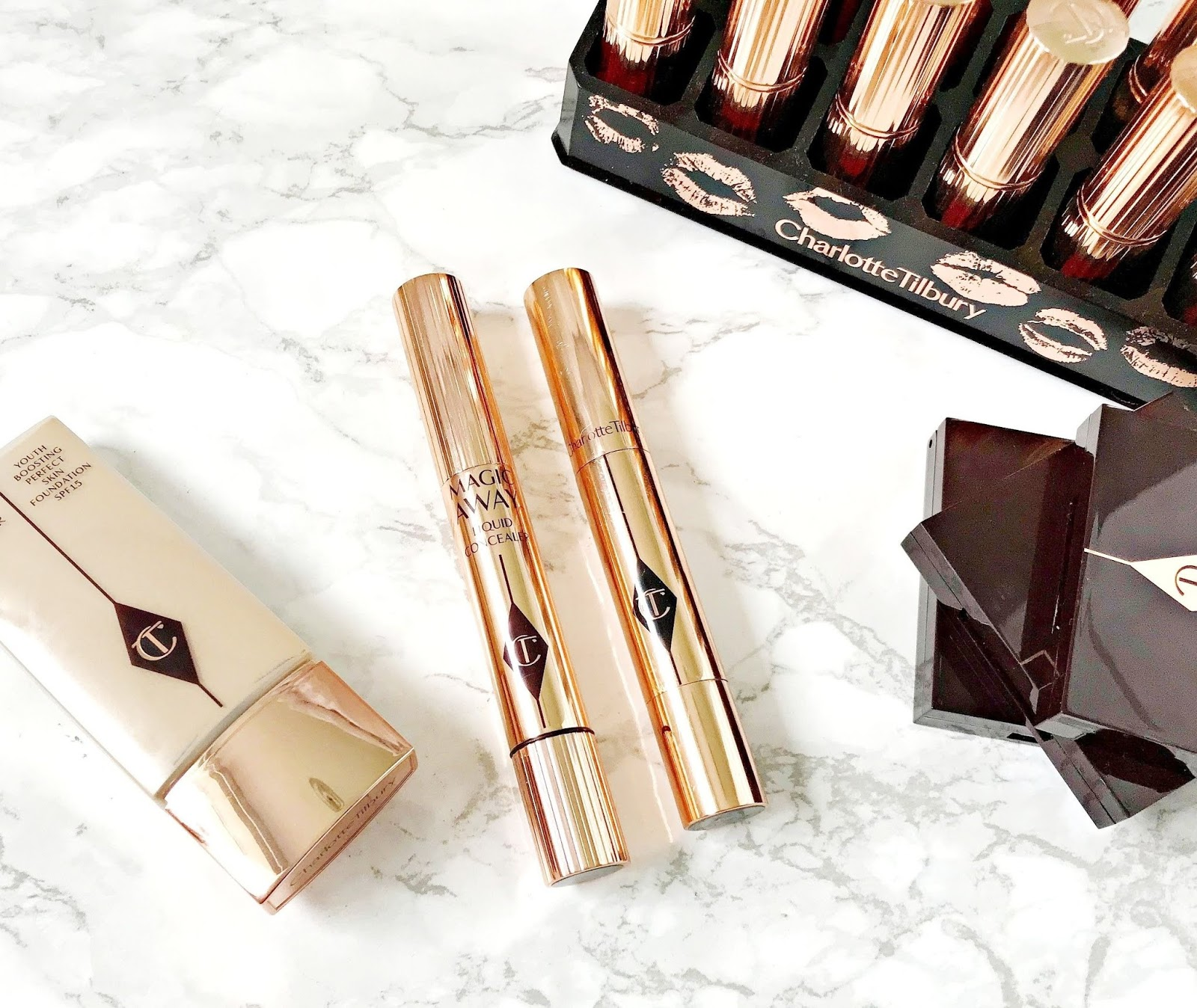 Charlotte Tilbury Magic Concealer VS The Retoucher