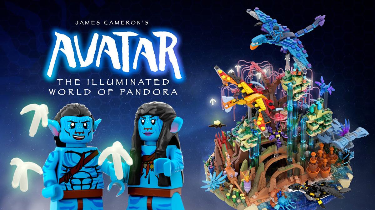レゴアイデアで『映画アバター:美しいパンドラ』がレゴアイデア製品化レビュー進出!2020年第3回1万サポート獲得デザイン紹介
