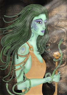 Medusa, Dewi Cantik yang Memikul Beban Ganda