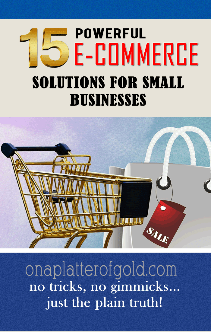 Best eCommerce Software And Shopping Cart Vendors For Small Business