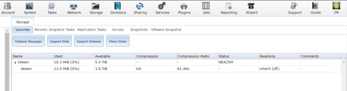 The OptionKey Blog: Server 2012R2, Veeam and FreeNAS SMB