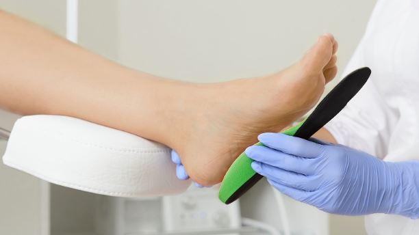 custom foot orthotics silicone feet heel cushion