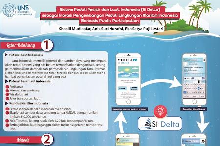 Sistem Peduli Pesisir dan Laut Indonesia (Si Delta)