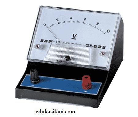 voltmeter penjelasan