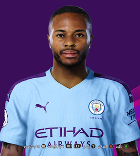 PES 2020 Faces Raheem Sterling by So PES