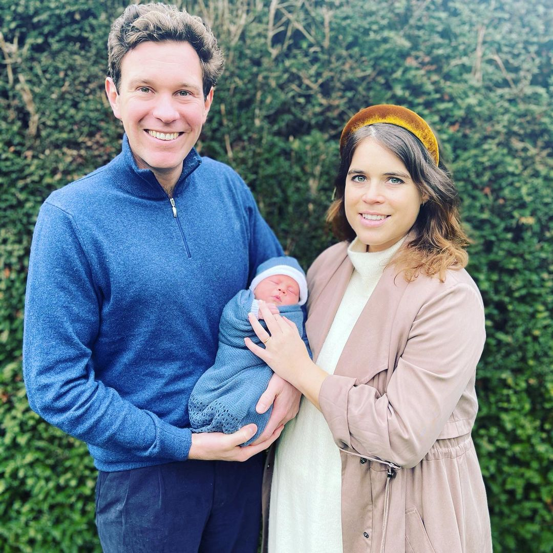 Princess Eugenie and Jack Brooksbank today announced the name of their adorable son who was born last week on February 09 at the Portland hospital