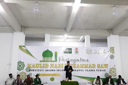 Peringatan Maulid Nabi Muhammad SAW di Masjid Baru IAINU Tuban