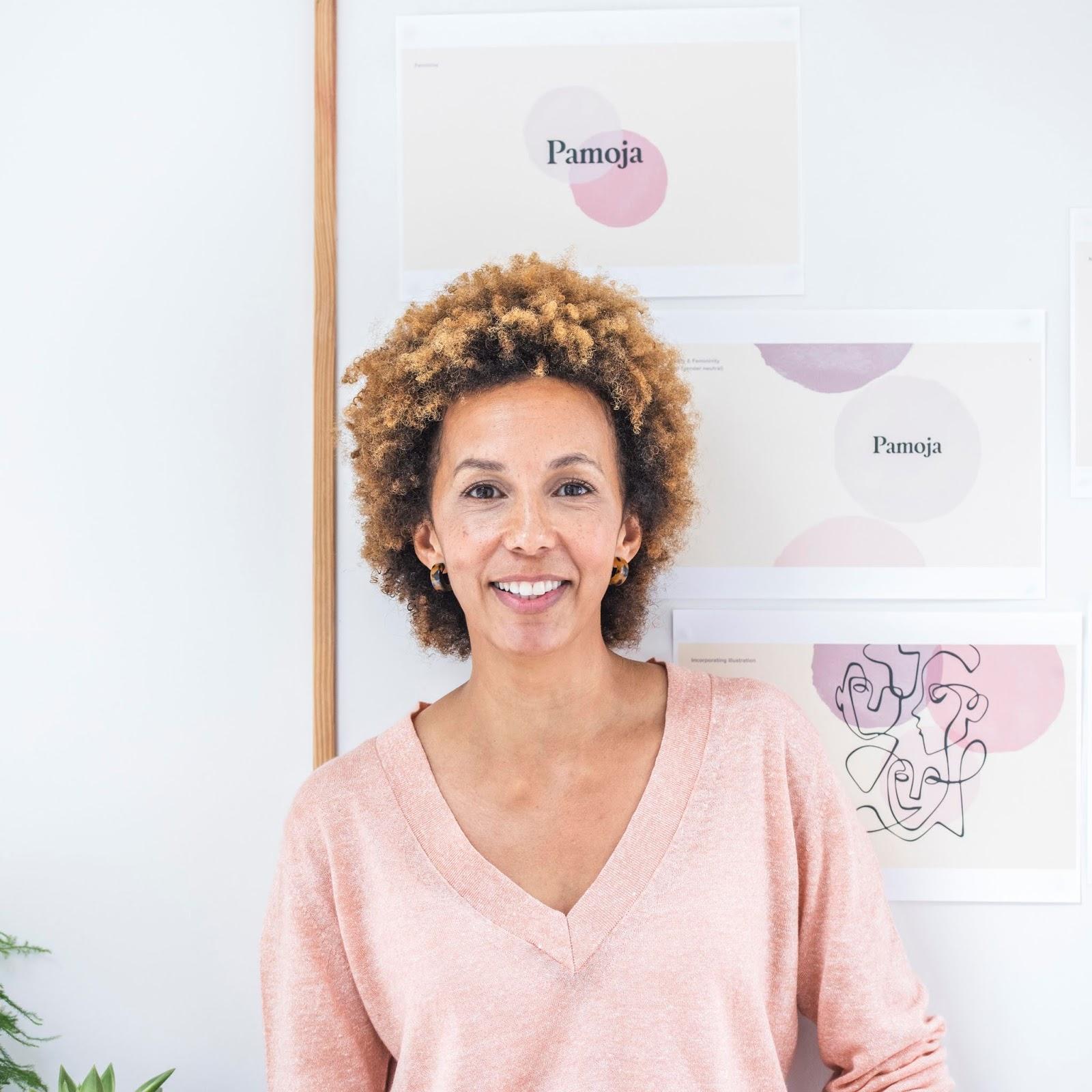 Sarah founder of Pamoja Skincare