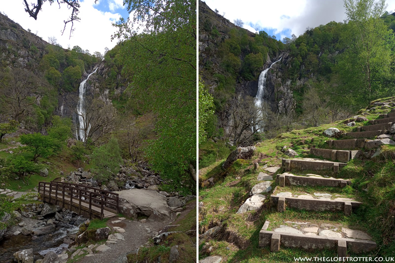 Aber Falls in Wales