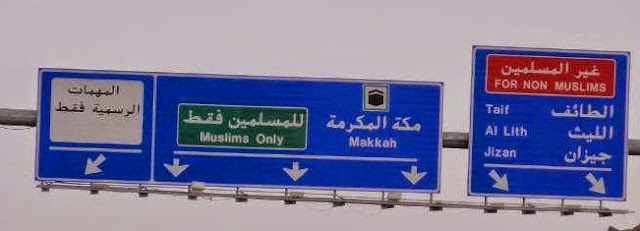 Tahukah? di Arab Saudi, Non Muslim Disebut Ghoirul Muslimin bukan 'Kafir'