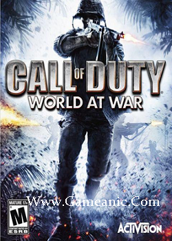 Call Of Duty World At War Game Cover