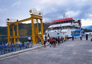 Nataru Ini KMP Pora Pora Siap Layani Masyarakat di Perairan Danau Toba