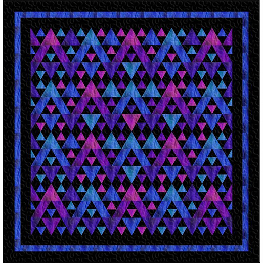 Amber Waves Quilt Free Pattern designed by Jinny Beyer