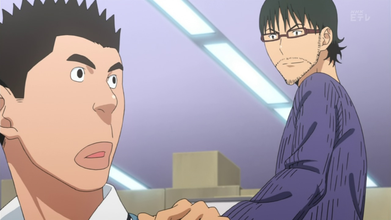 Unless someone decides to come clean well never know and i suppose in the context of bakuman it doesnt really matter this is mashiro and takagis