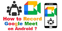 How to Record Google meet?
