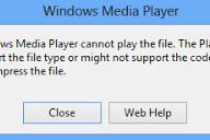 6 Cara Mengatasi error Windows Media Player Cannot Play The File