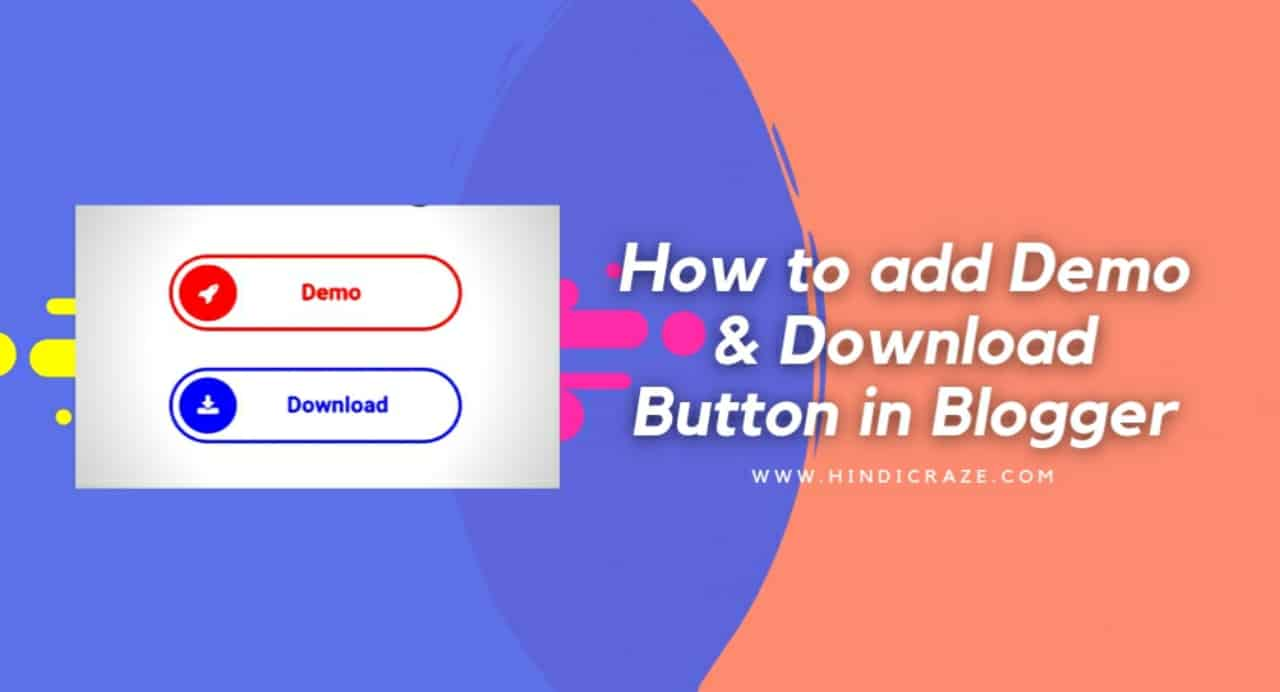 Stylish CSS Slider Demo and Download Button for blogger