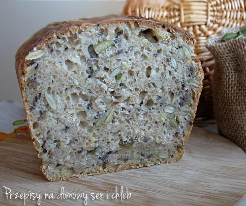 Chleb pszenno - orkiszowy z ziarnami