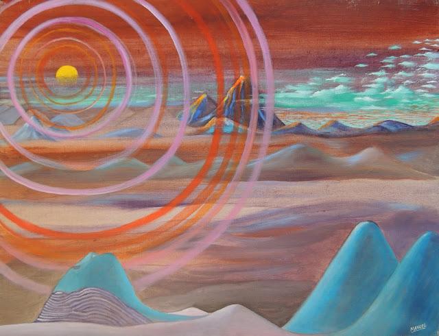 Manuel Carmona pintura naíf Atacama
