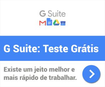 G Suite: Teste Grátis