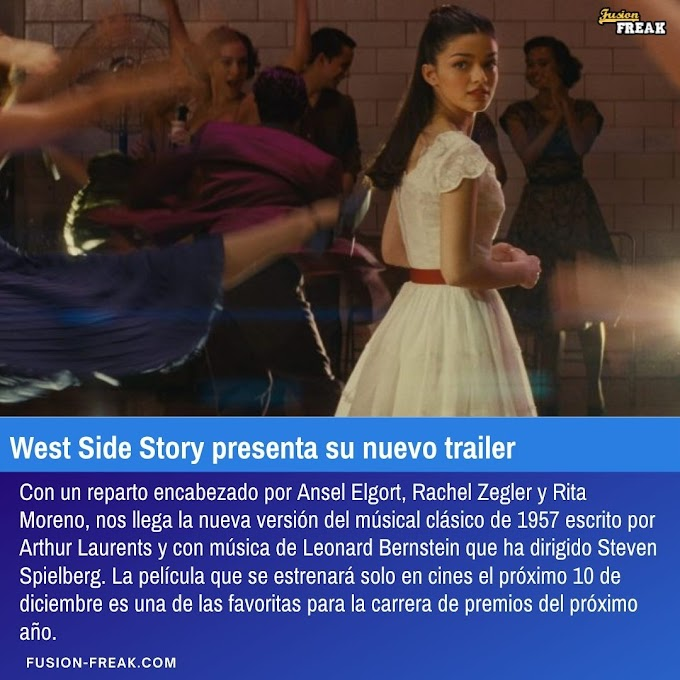 West Side Story presenta su nuevo trailer