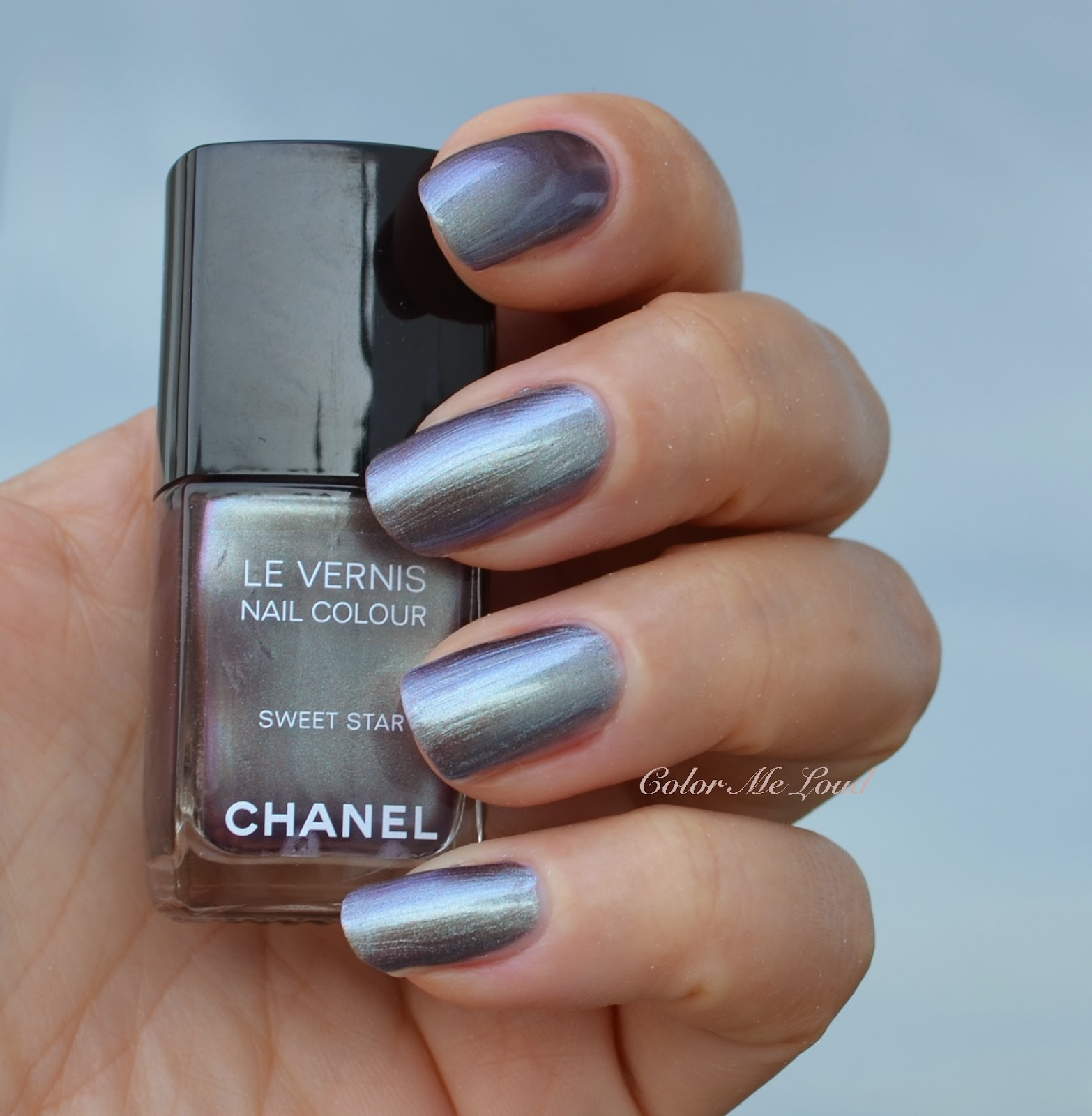 Chanel Le Vernis Sweet Star For Fashion Night Out 2014 Nail Polishes Review Swatch