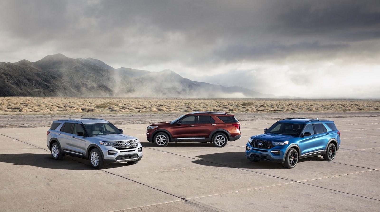 La Nueva Ford Explorer va más rápido y más allá