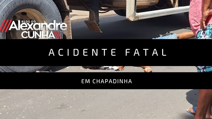 Acidente grave deixa uma pessoa Morta na  Avenida Ataliba Vieira em Chapadinha